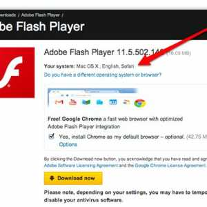 Instalați Adobe Flash Player